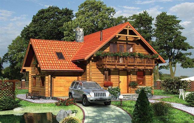 Mais uma opção para quem busca projetos de casas rústicas