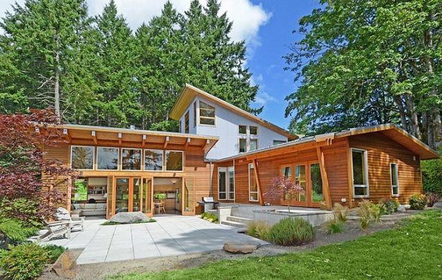 Um modelo de casa perfeito para as montanhas ou para o campo