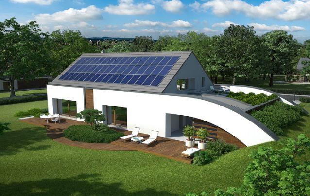 Modelo de casa com design um tanto quanto singular