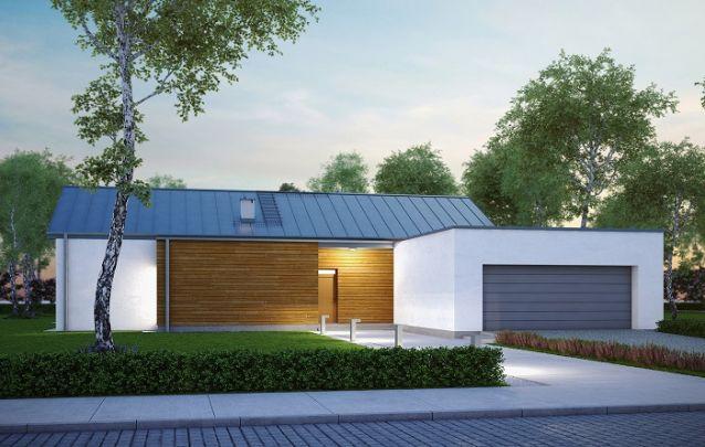 Esta é uma alternativa para quem busca projetos de casas com uma fachada neutra