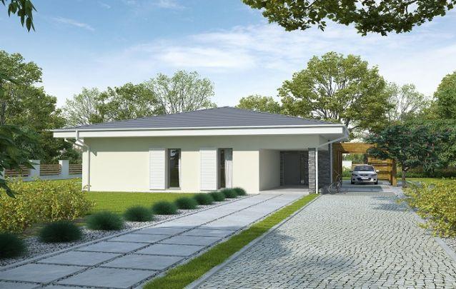 Exemplo para projetos de casas pequenas de piso térreo