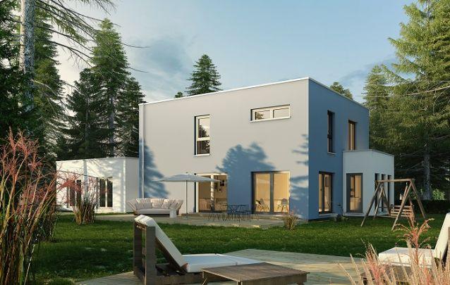Linhas retas deixam os projetos de casas mais modernos