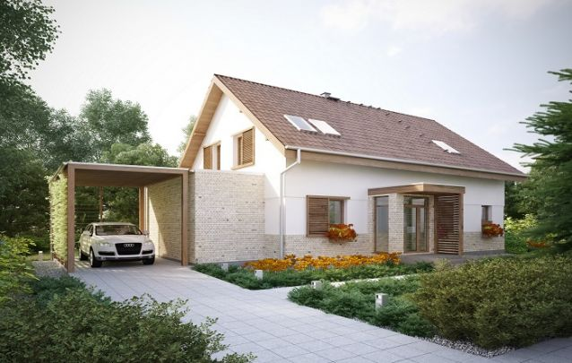 Um modelo de casa clássica para quem busca um projeto prático