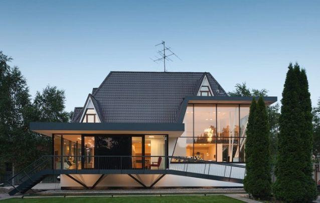 Projeto de casa com uma fachada exclusiva