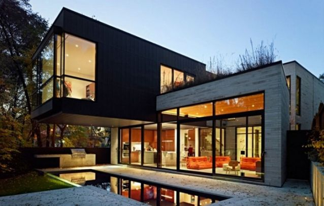Um modelo de casa planejada pra lá de moderna
