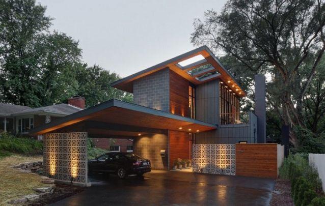 Um modelo de casa sóbrio e elegante