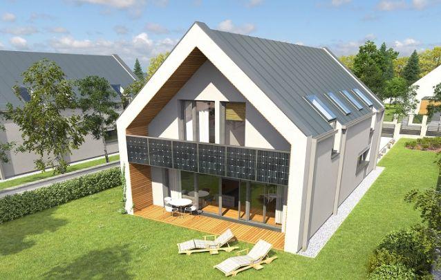 Casa moderna com estilo de celeiro