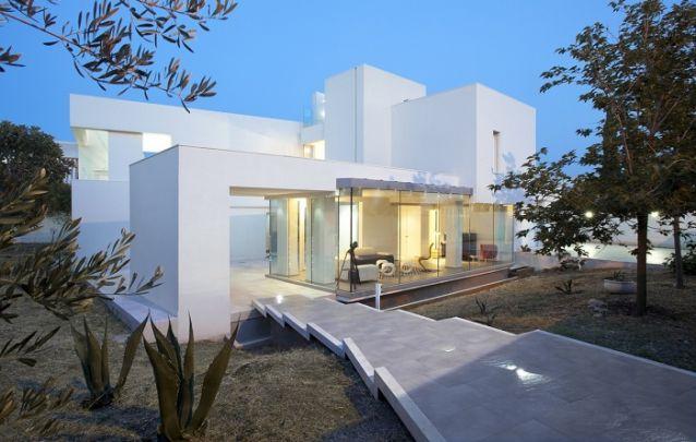 O branco traz sofisticação para os projetos de casas