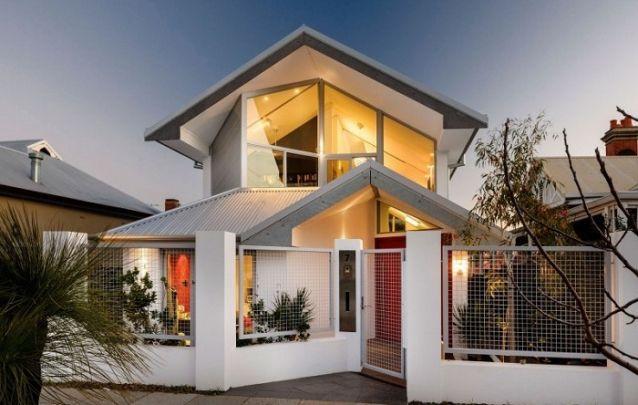 Linhas assimétricas conferem singularidade ao projeto desta casa
