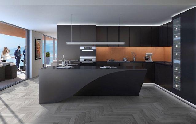 O preto é uma ótima opção de cor para compor um ambiente sofisticado