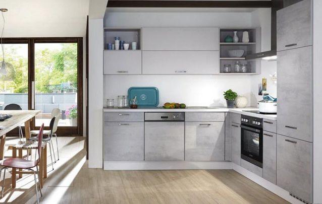 Cozinha em L em um ambiente integrado deve harmonizar com os demais cômodos