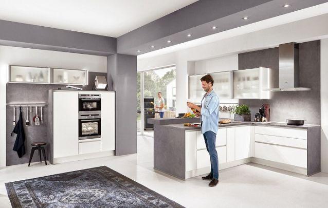 Cozinha planejada em L que agrada a maioria