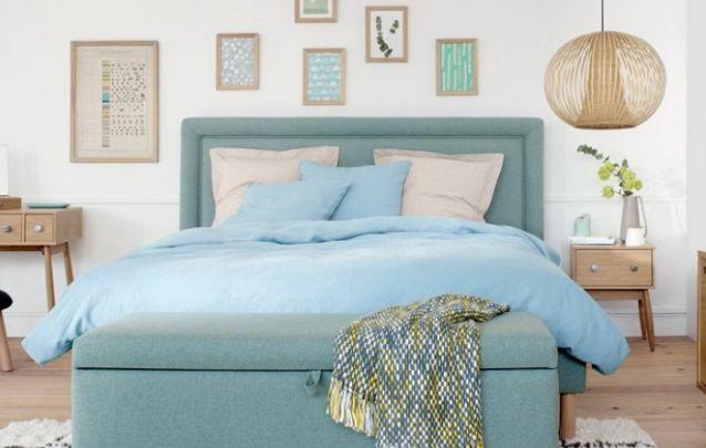 O azul não é exclusividade masculina, é uma cor que também cai muito bem na decoração de quartos femininos