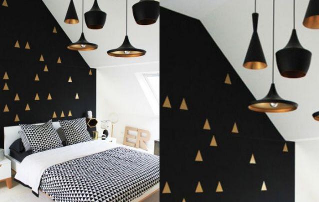 Aposte em lâmpadas pelo quarto, pois isto traz a sensação de um ambiente mais amplo