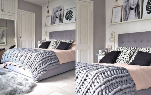 Moderno e jovem define este quarto