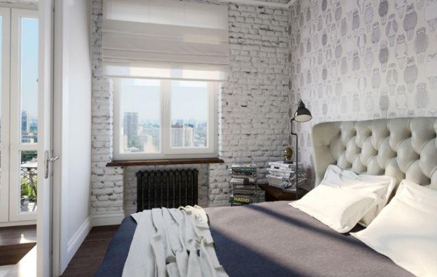 Pequenino quarto feminino e clean