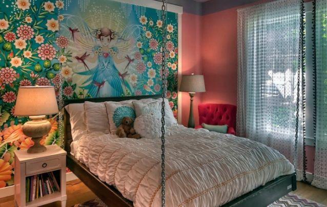 Quarto perfeito para uma jovem mulher que busca um quarto único e cheio de personalidade