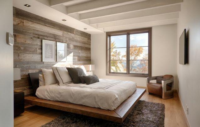 Para as mulheres que buscam um estilo rústico, este quarto é uma ótima inspiração