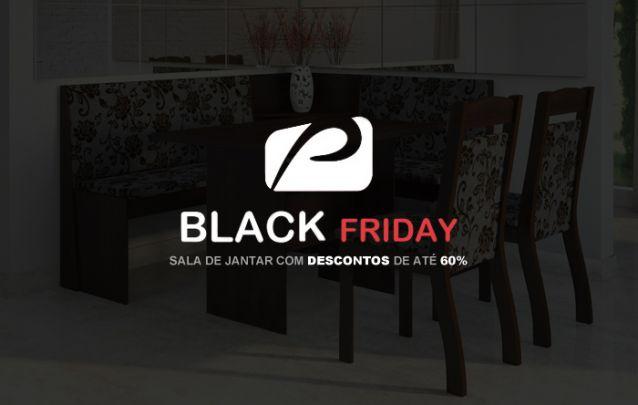 Sala de Jantar com Descontos Black Friday