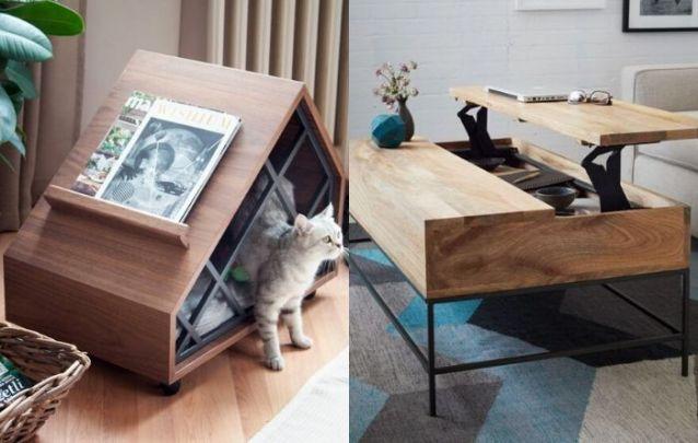 Mobília multifuncional nunca sai de moda!