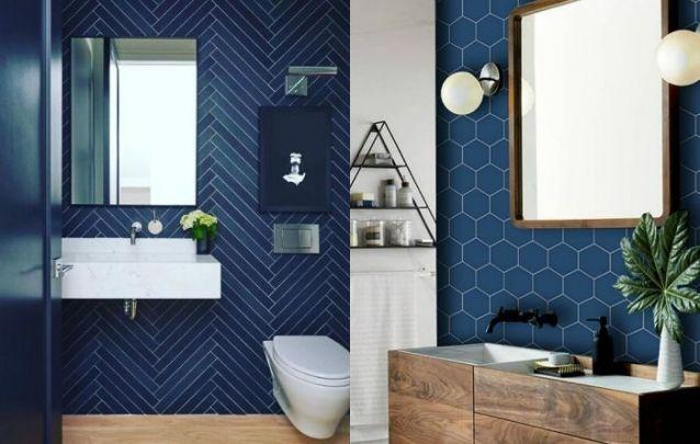Banheiros com Classic Blue