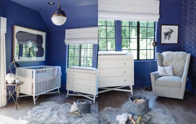 Aposte no Classic Blue para o quarto de bebê