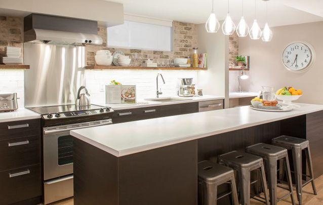 Cozinha Com Luzes