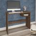 Mesa Escrivaninha Detroit Mocaccino Rústico - Atualle Móveis